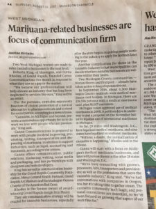Canna Communication in the News: Mlive newspaper article about the company