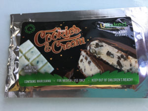 an edible marijuana cookie bar, it will be legal for all adults if Michigan legalizes marijuana
