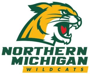 wildcat logo for Northern Michigan University