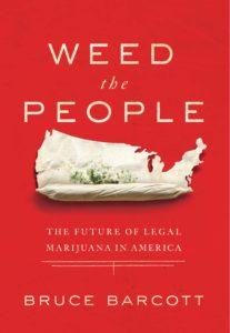 cover of the book Weed the People, the author is speaking on 420 in Grand Rapids