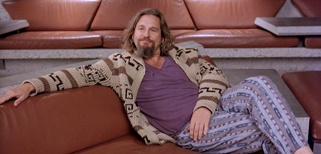 the dude, a stereotype of a marijuana user