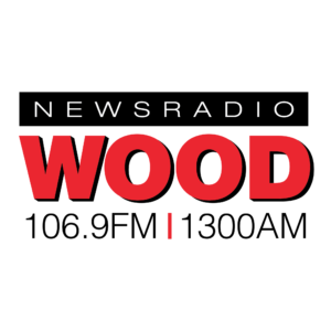 logo for wood radio