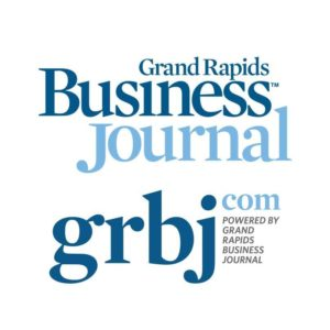 logo for grand rapids business journal