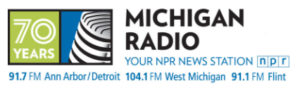 logo for Michigan Radio, the NPR station