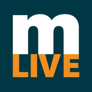 logo for Mlive, the news source
