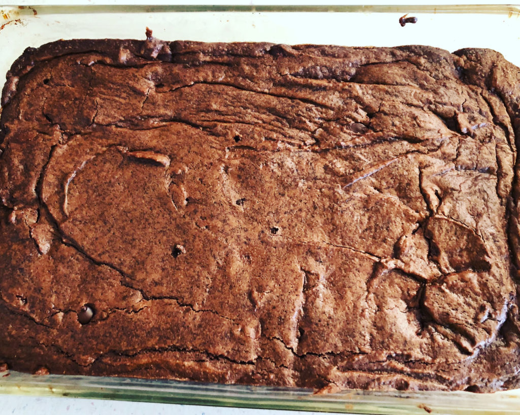chile chocolate cannabis brownies